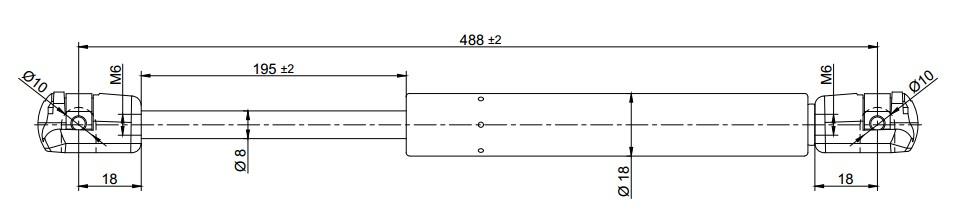 AUDI A3 2004-2012 ARASI / BAGAJ AMORTISORI TAKIM (SAĞ-SOL)